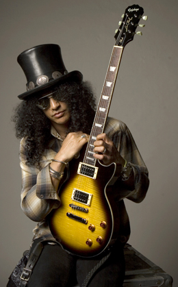 Paul Slash et sa Gibson
