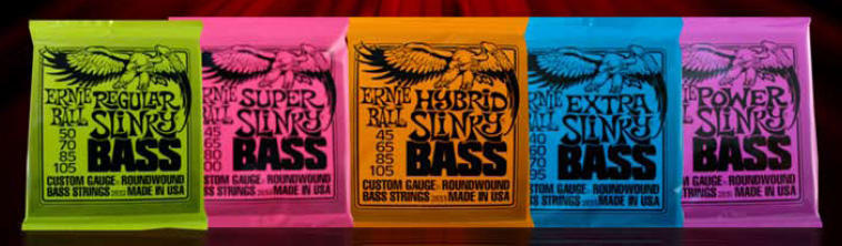 Nouveau packaging Ernie Ball