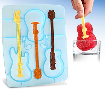 guitares glaçon
