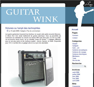 Guitare wink