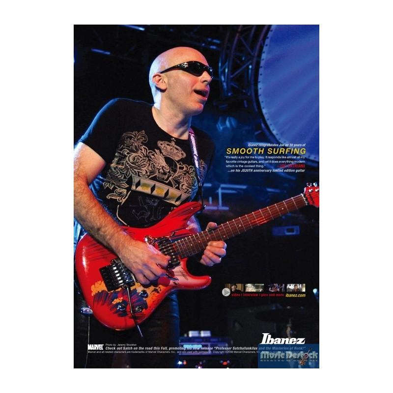 [Concours] Encore une guitare Joe Satriani à gagner …
