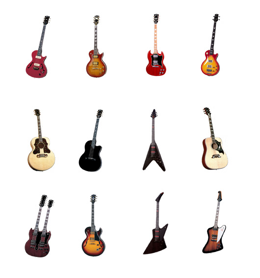 Gibson-Guitars-icones