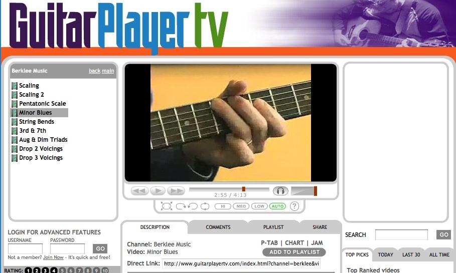 Guitar Player TV