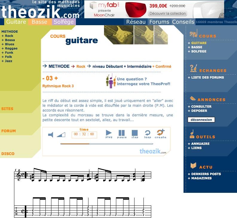 Leçons de guitare gratuites : 10 sites pour progresser
