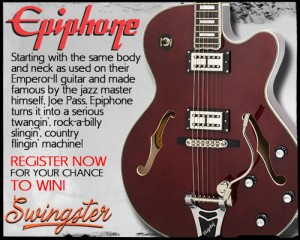 Epiphone swingster concours