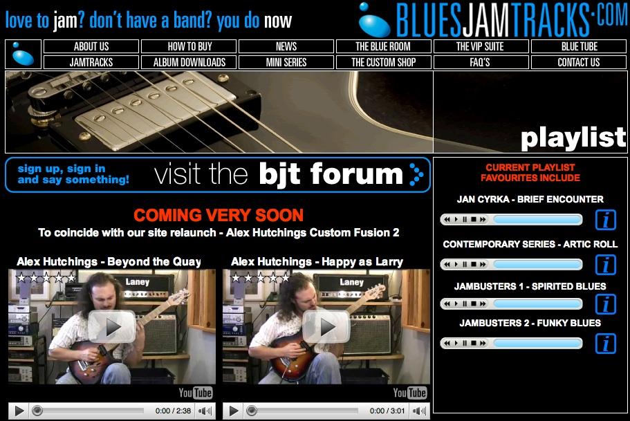 bluesjamtracks