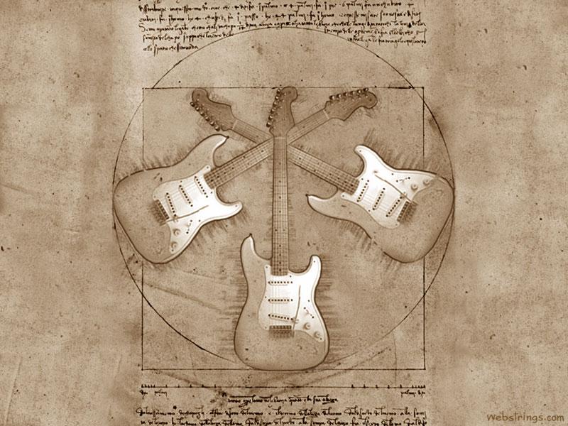 Des cordes pas chères et des fonds d'écrans guitare gratuits