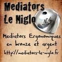 Mediator pour guitare Niglo