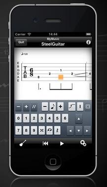 Guitar Pro pour iOS : et maintenant créez vos tablatures