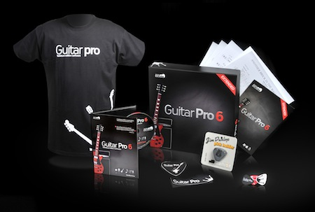 Gagnez des packs Guitar Pro 6 Extended Edition Limitée et des tablatures MySongBook sur le Blog Qui Gratte
