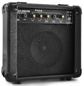 Test de l'ampli guitare Ibiza GA-0006USB