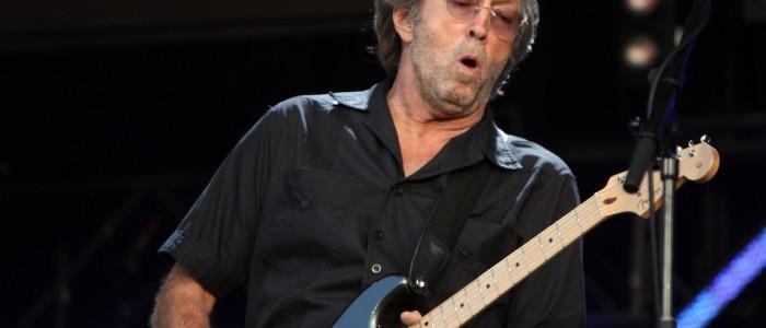Erci Clapton à la guitare